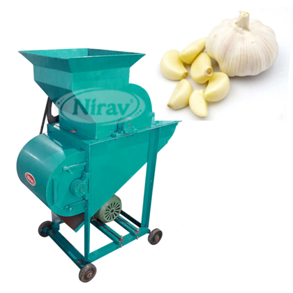 Garlic Bulb Breaker Machine